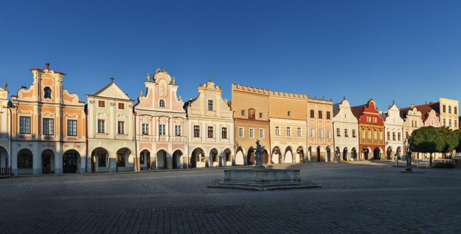 Telč. fot. Václav Jirásek