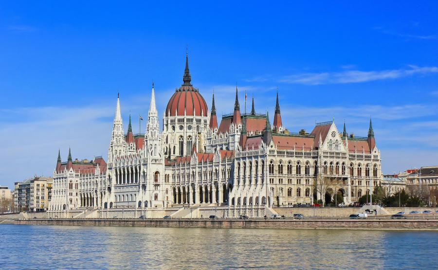 Siedziba węgierskiego parlamentu