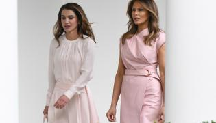 Królowa Rania i Melania Trump
