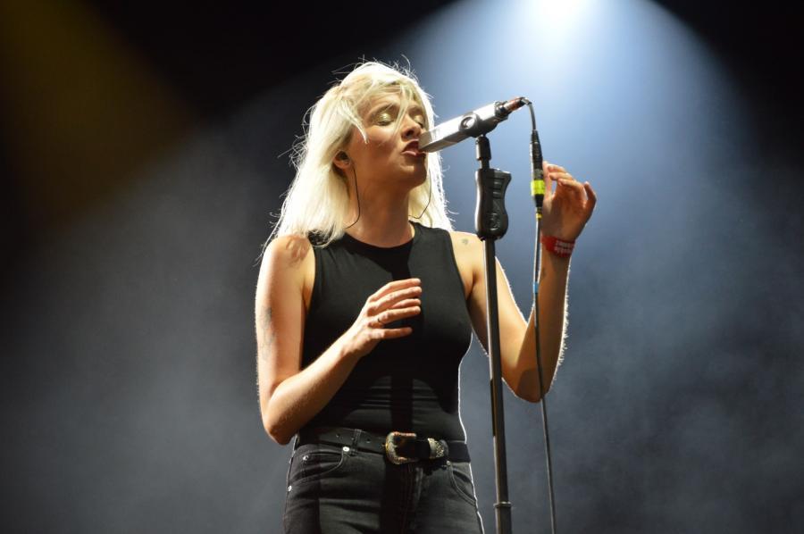 Daria Zawiałow na koncercie Męskie Granie 2018. Warszawa 2018.08.20