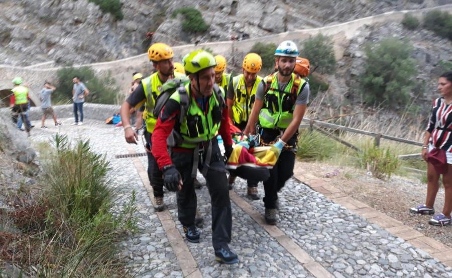 Akcja ratunkowa we Włoszech