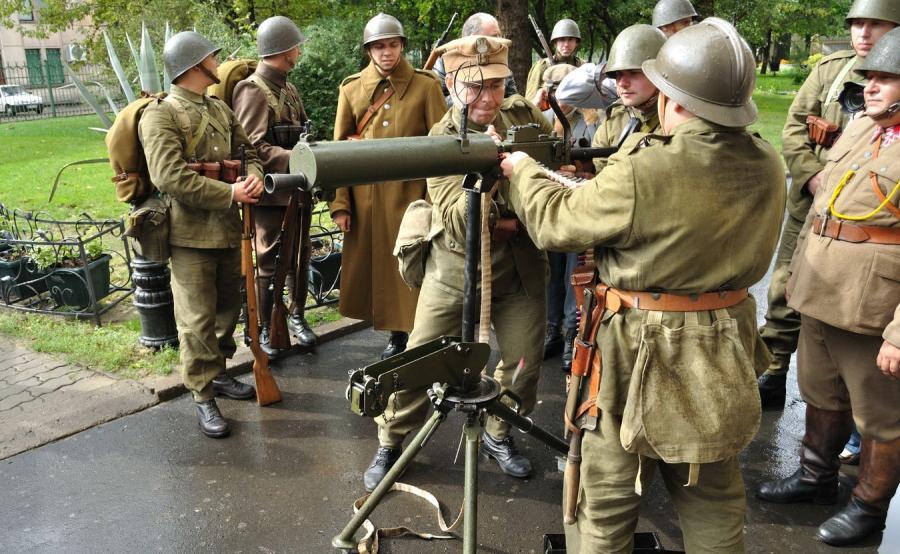 Polskie wojsko - grupa rekonstrukcyjna