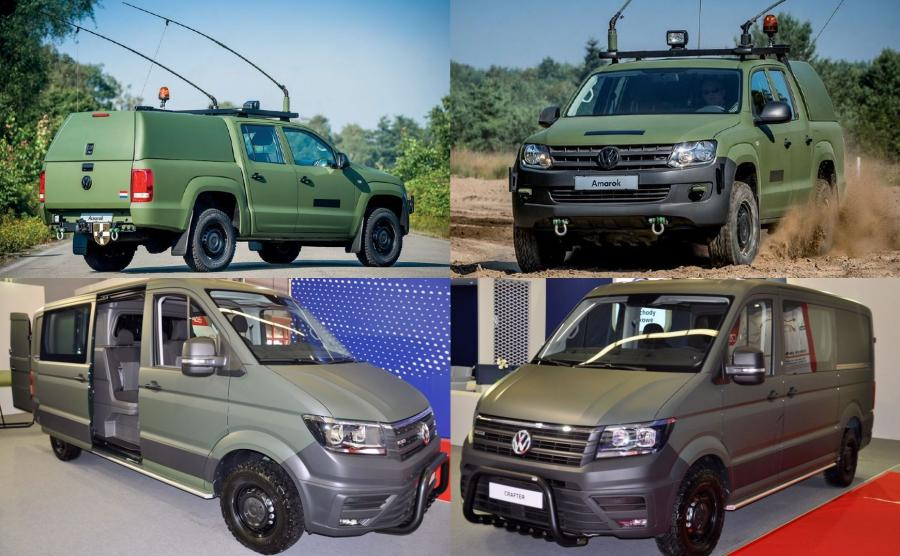Marka Volkswagen Samochody Użytkowe pokazała trzy modele podczas Międzynarodowego Salonu Przemysłu Obronnego w Kielcach