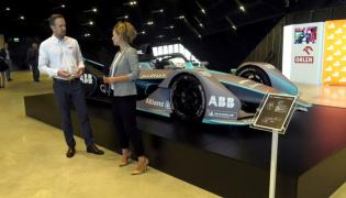 ABB pokazało w Katowicach  elektryczny bolid drugiej generacji