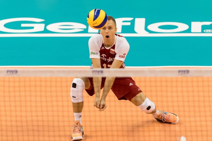 Paweł Zatorski podczas meczu mistrzostw świata siatkarzy z Portoryko