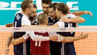 Radość Polaków podczas meczu mistrzostw świata siatkarzy z Portoryko