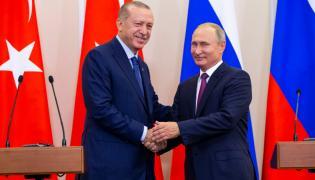 Władimir Putin i Tayyip Recep Erdogan