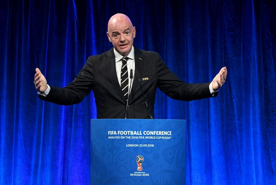 Szef FIFA, Gianni Infantino
