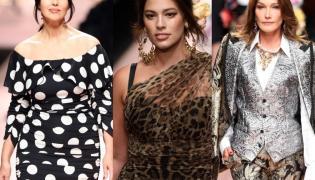 Monica Bellucci, Ashley Graham i Carla Bruni