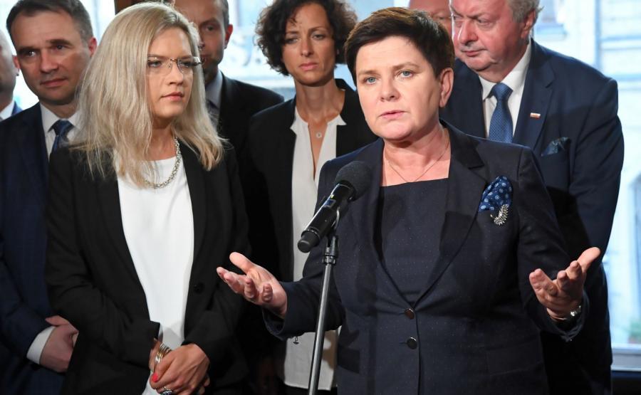 Małgorzata Wassermann i Beata Szydło