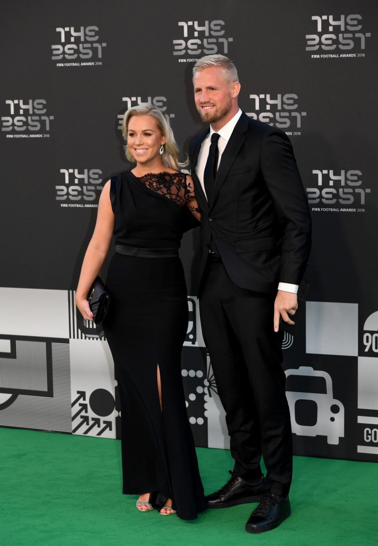 Kasper Schmeichel z żoną
