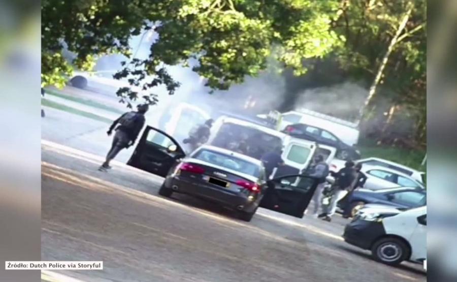 Akcja holenderskiej policji przeciw terrorystom