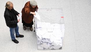 Głosowanie w Lublinie