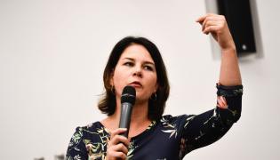 współprzewodnicząca Zielonych, Annalena Baerbock