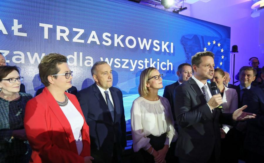 Rafał Trzaskowski Grzegorz Schetyna Katarzyna Lubnauer Barbara Nowacka Ewa Kopacz