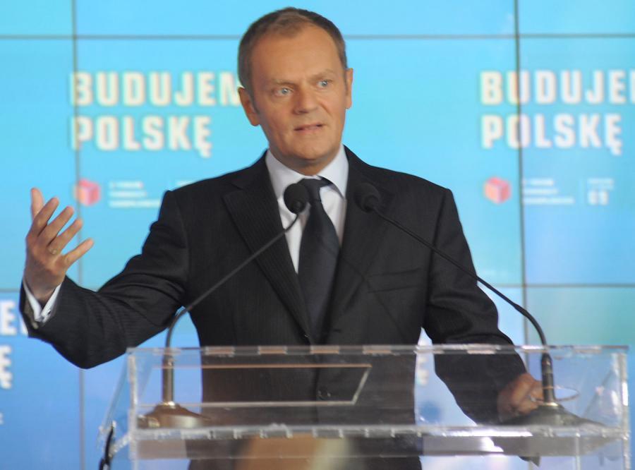Tusk: Silna Platforma, to silna Polska