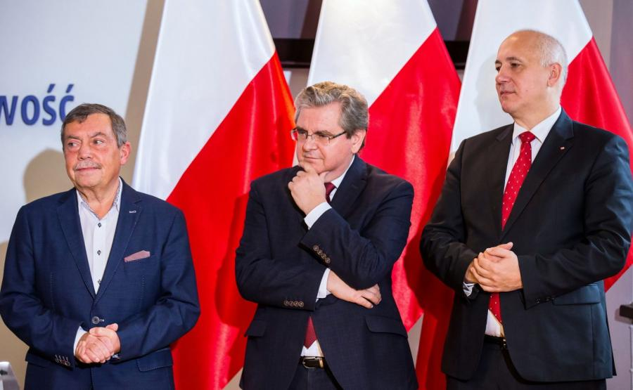 Bartłomiej Sochański, Czesław Hoc, Joachim Brudziński