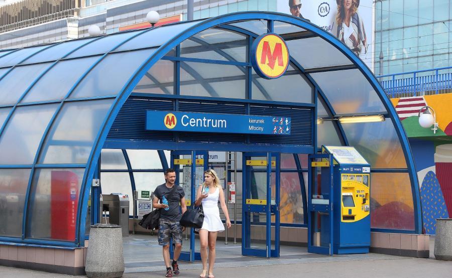 stacja Metro Centrum