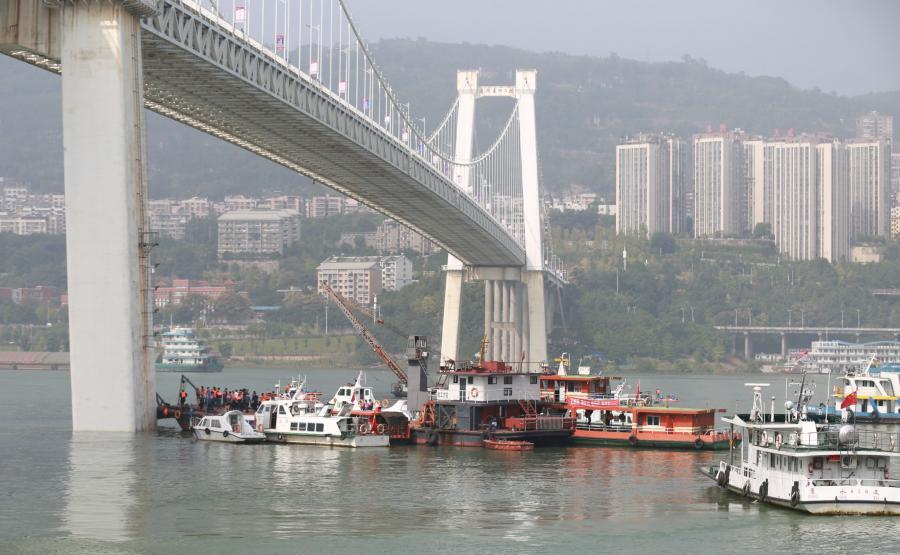 Ratownicy szukają ciał po tragedii w Chongqing
