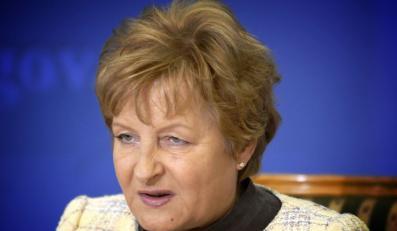 Dlaczego Zyta Gilowska wraca do polityki?