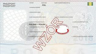 """Nowy wzór paszportu z dewizą """"Bóg, Honor, Ojczyzna"""" / MSWiA"""