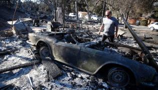 Pożar Kalifornia