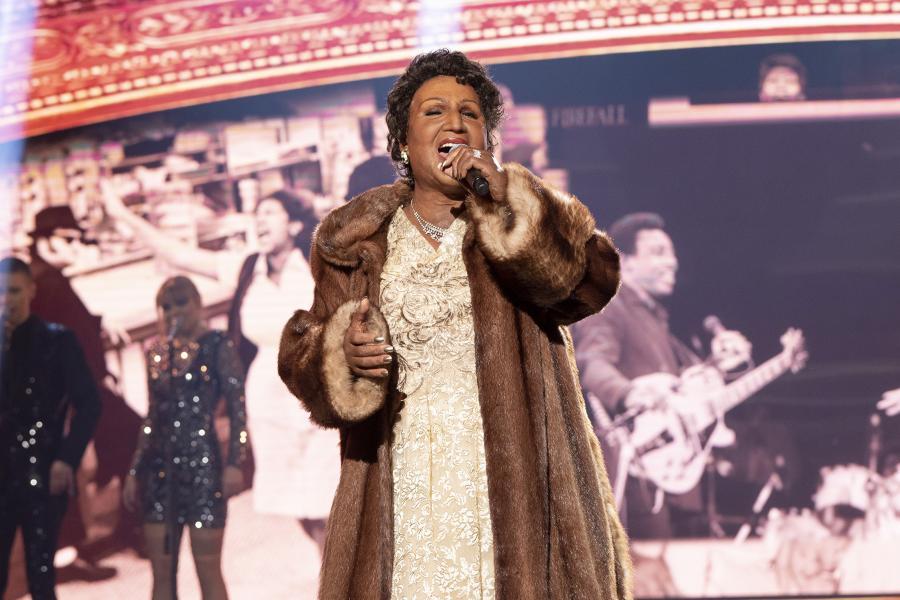 Twoja Twarz Brzmi Znajomo - Mateusz Ziółko jako Aretha Franklin / fot. M. Zawada