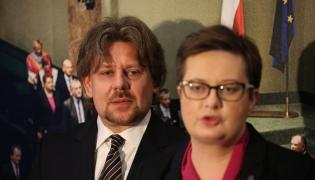 Piotr Misiło i Katarzyna Lubnauer