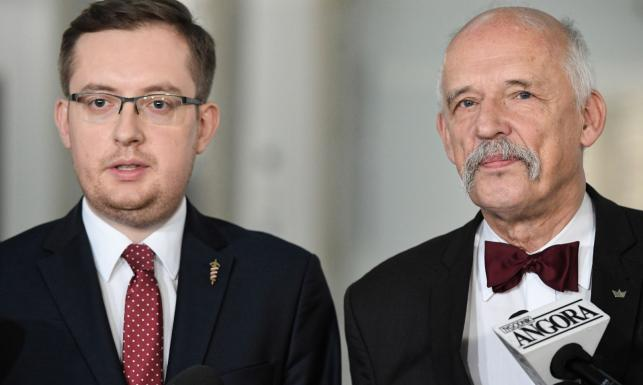 Wolność i RN zawiązują koalicję. Korwin-Mikke: Narodowcy mają program na polexit, my mamy program na rozwalenie UE