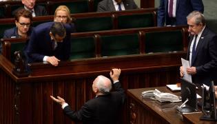 premier Mateusz Morawiecki i prezes PiS, Jarosław Kaczyński