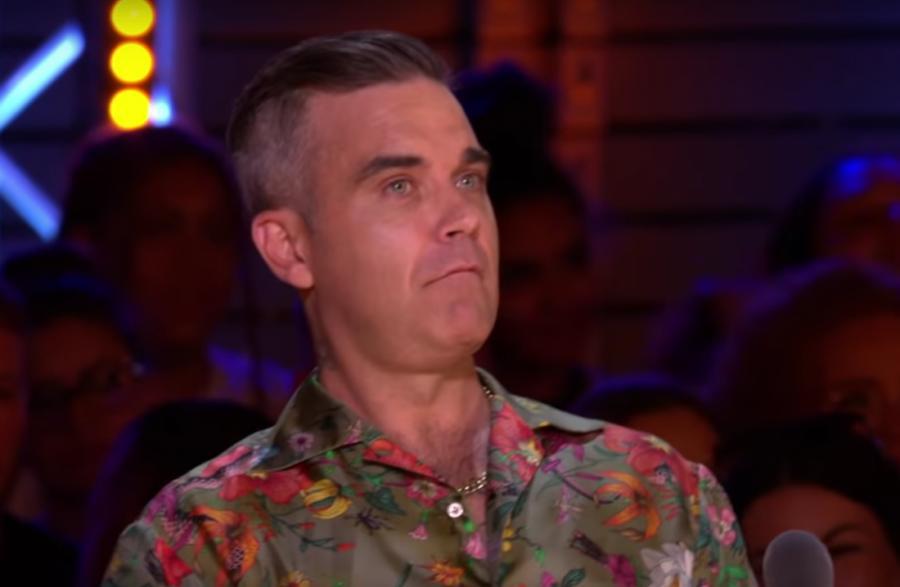 Robbie Williams w programie X-Factor