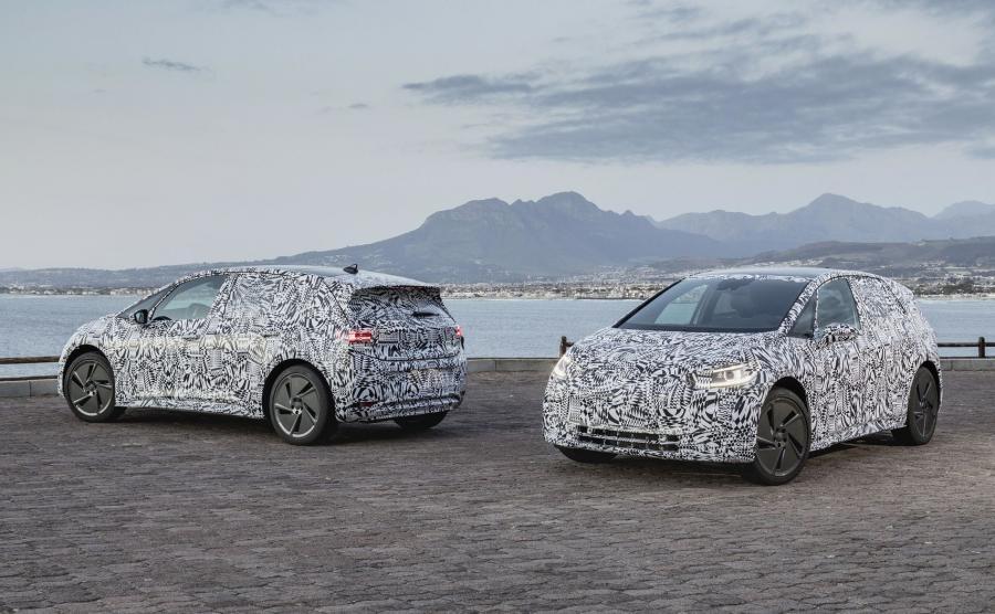 Pod koniec 2019 roku elektryczny ID. - pierwszy samochód zbudowany na platformie MEB trafi do seryjnej produkcji. Volkswagen rozpoczął ostatnią fazę testów w Południowej Afryce