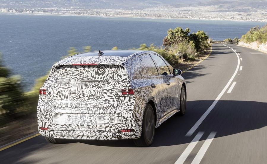 Volkswagen ID. - testy aut przed produkcją seryjną