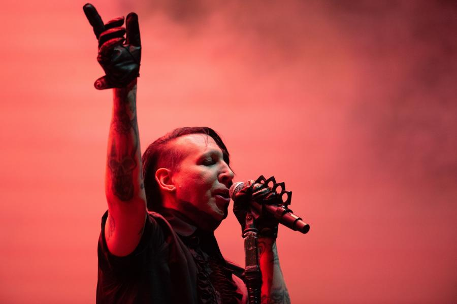 Marilyn Manson. Rok 2018