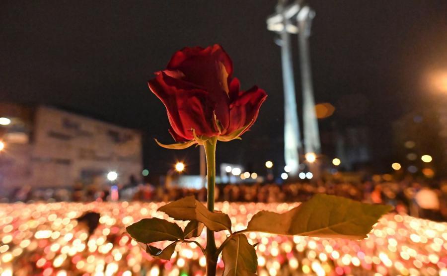 Największe Serce Świata dla Pawła Adamowicza