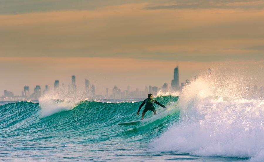 Surfers Paradise.