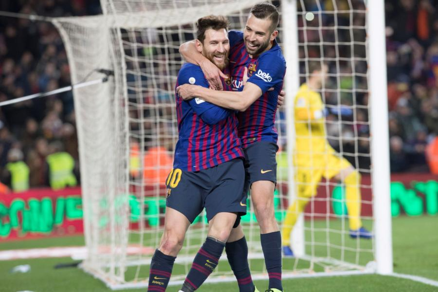 Leo Messi i Jordi Alba