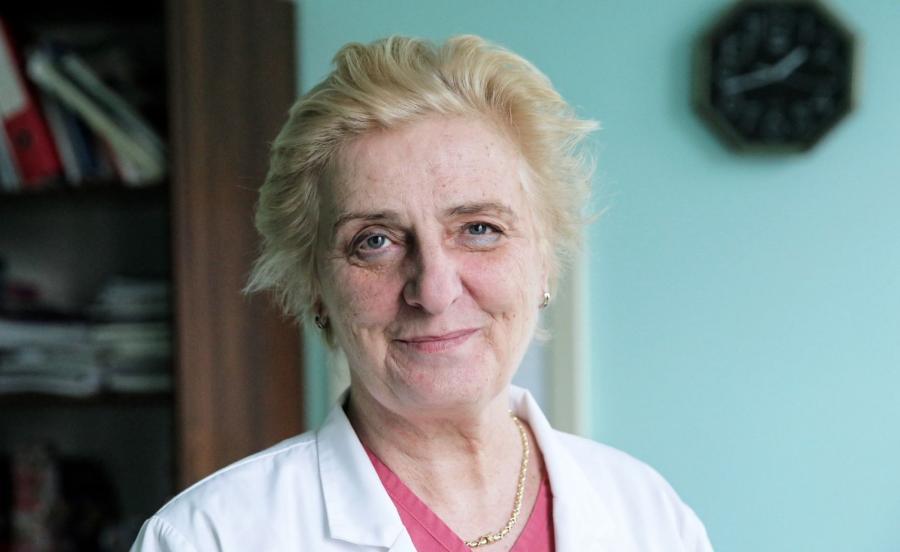 Dr Anna Bromirska-Małyszko w Miejskim Szpitalu Zespolonym w Olsztynie