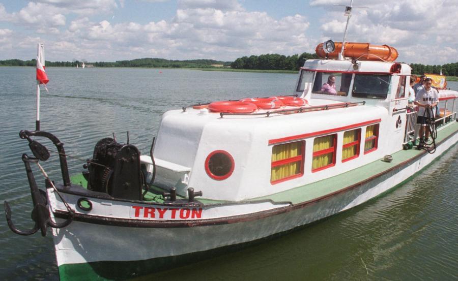 Statek Wigry, któym pływał Jan Paweł II