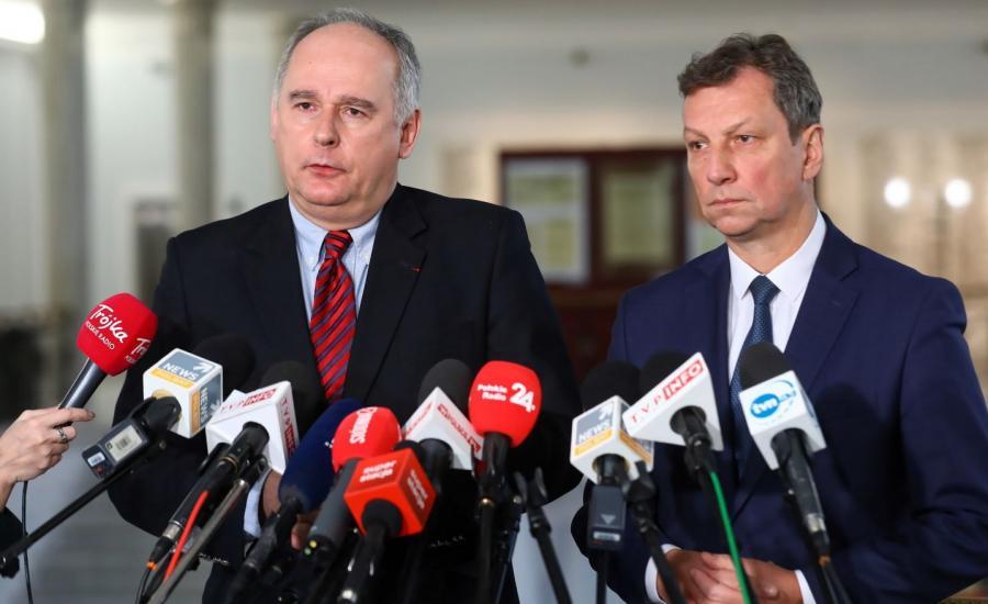 Paweł Zalewski (L) i Andrzej Halicki (P)