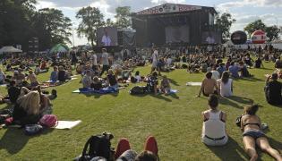 To konic rockowego festiwalu w Jarocinie