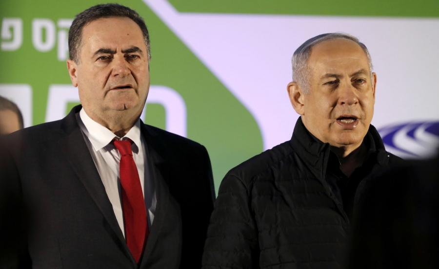 Benjamin Netanjahu i Izrael Katz