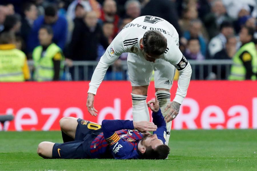 Sergio Ramos i Lionel Messi
