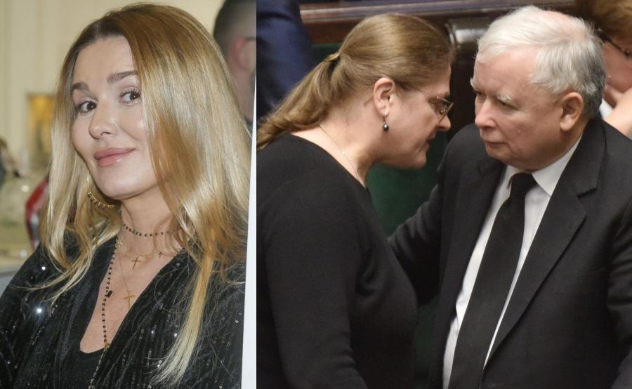 Hanna Lis, Krystyna Pawłowicz i Jarosław Kaczyński