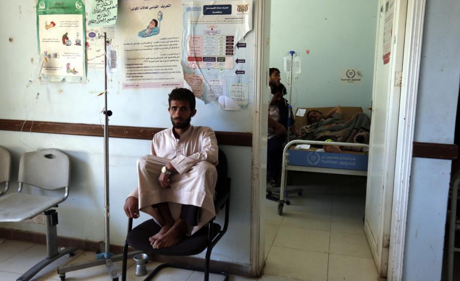 EPIDEMIA CHOLERY W JEMENIE