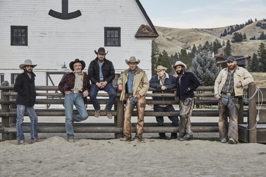 Kowboje w serialu \