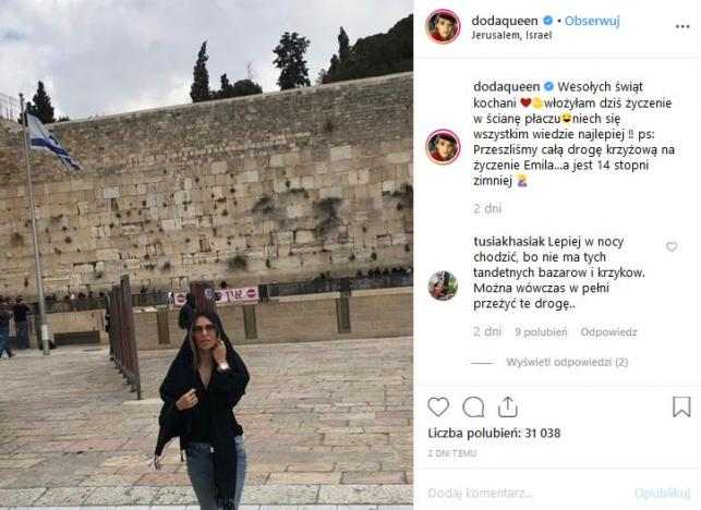 Doda w Jerozolimie