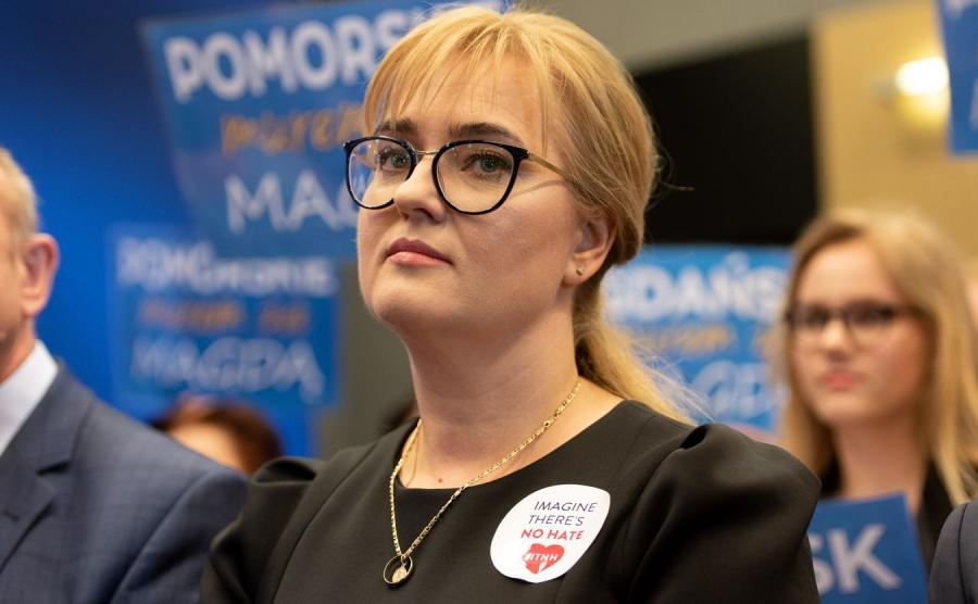 Magdalena Adamowicz.