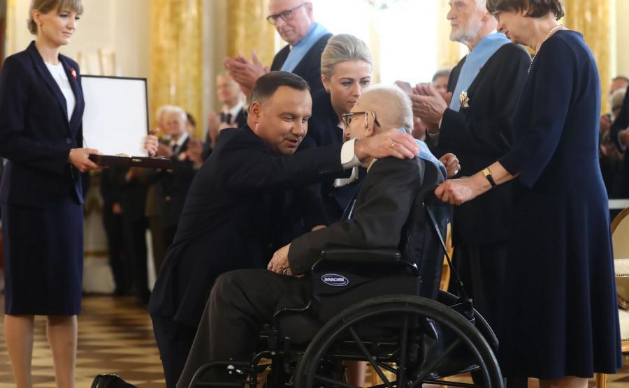 Władysław Siemaszko został odznaczony Orderem Orła Białego