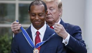 Donald Trump i Tiger Woods